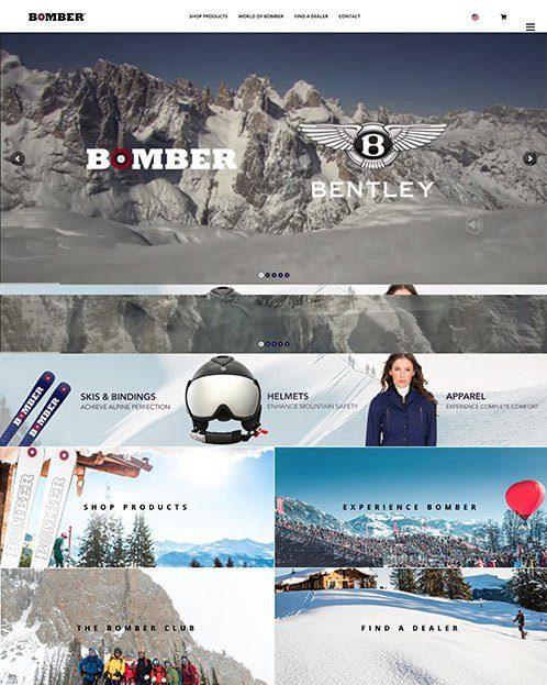 BomberSki.com Website